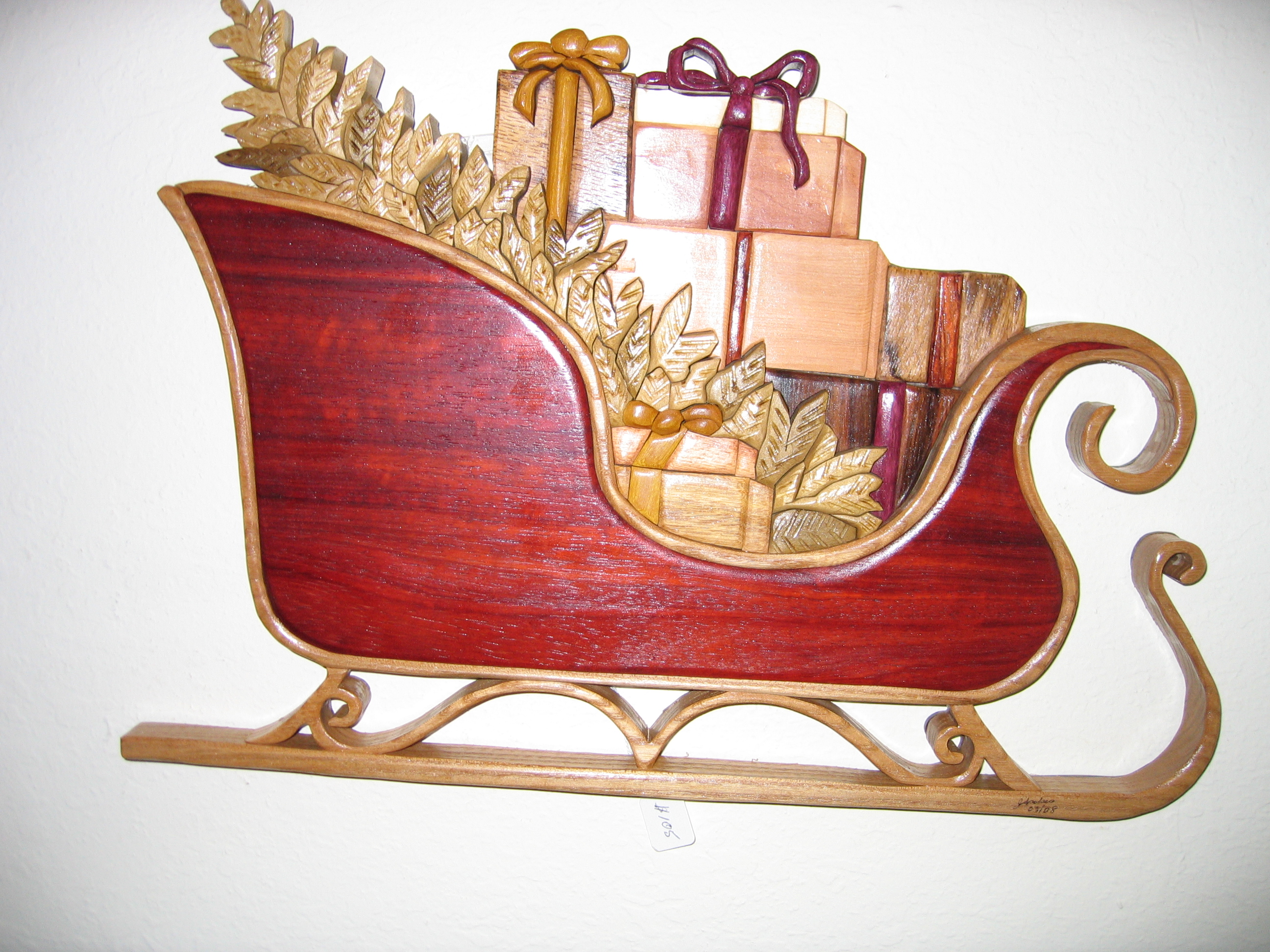 santa sleigh decoration - group picture, image by tag ...